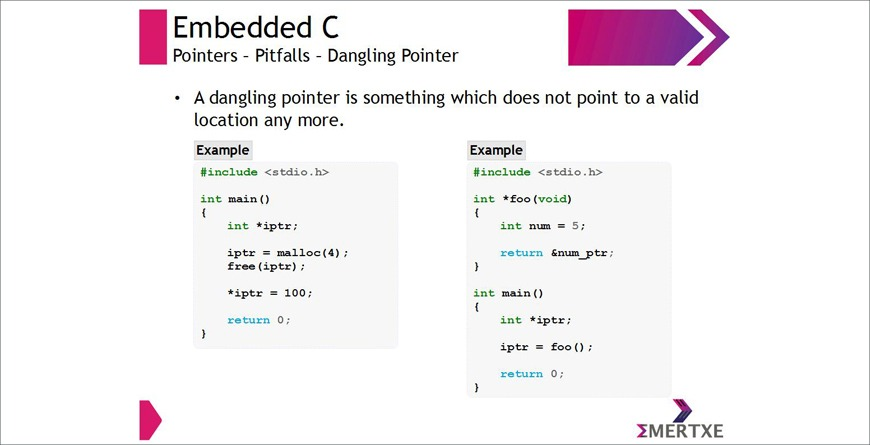 Dangling pointers in C : A practical tutorial