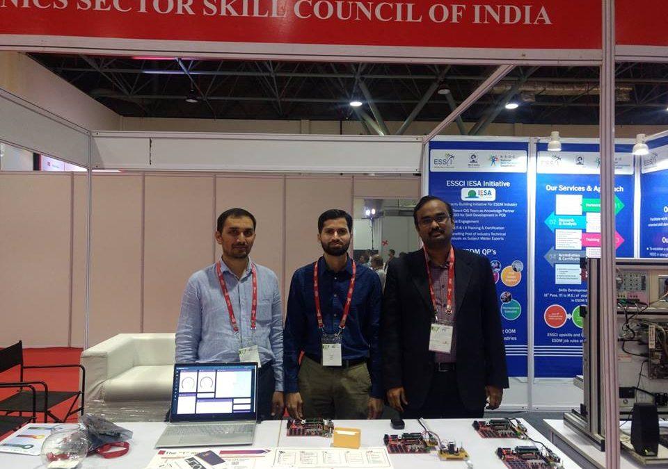 Emertxe @ India Electronics Week 2018 Conference