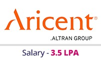 Embedded courses with placements - Company - Aricent