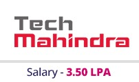 Embedded courses with placements - Company - Tech Mahindra