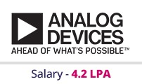 Embedded courses with placements - Company - Analog Devices