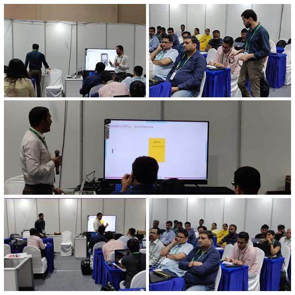 Emertxe's workshop at the IoT Show 2020