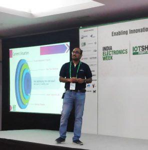 Jayakumar Balasubramanian at the IoT Show 2020