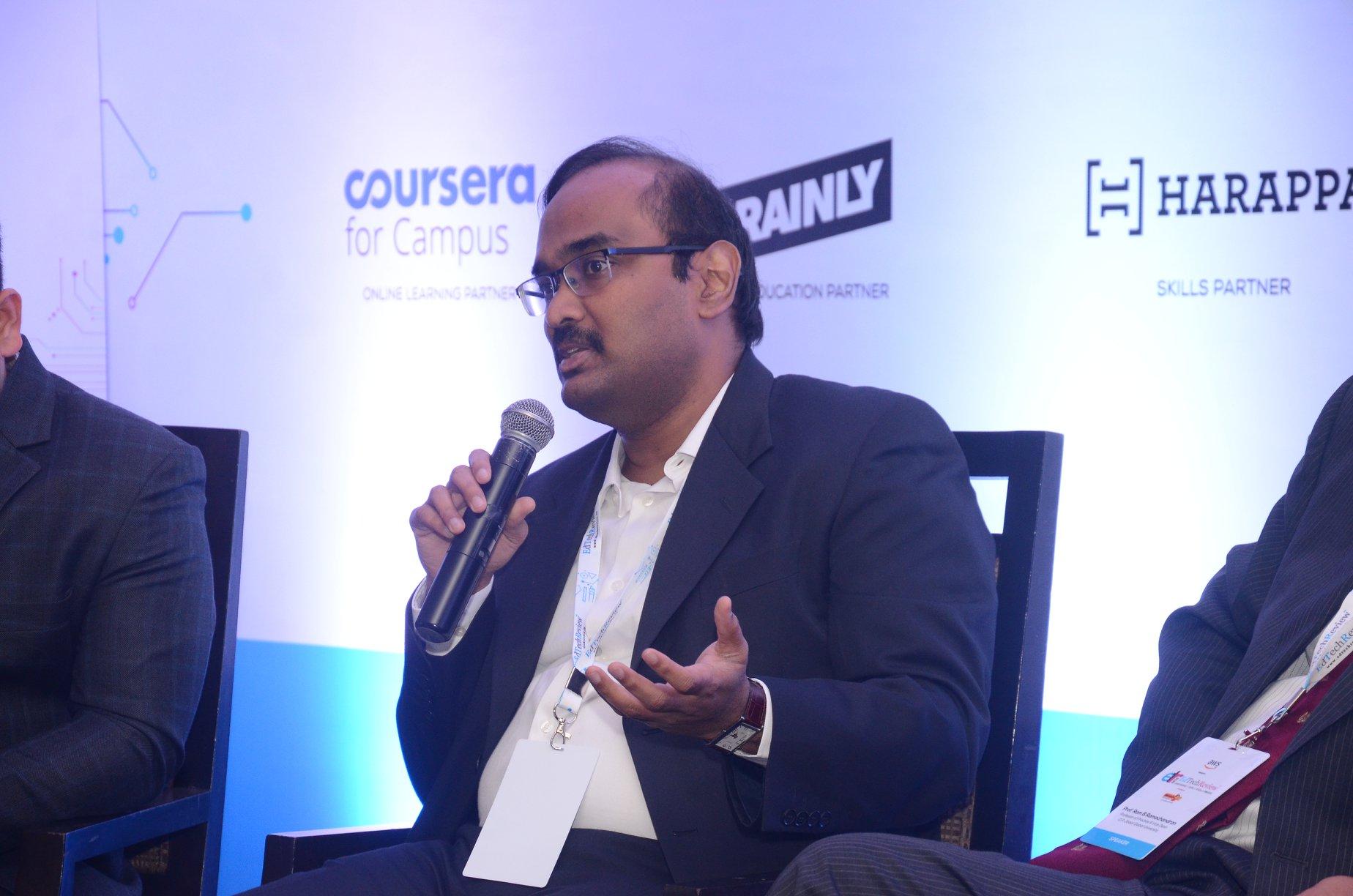 Jayakumar Balasubramanian at the Edtech Review Conference 2020