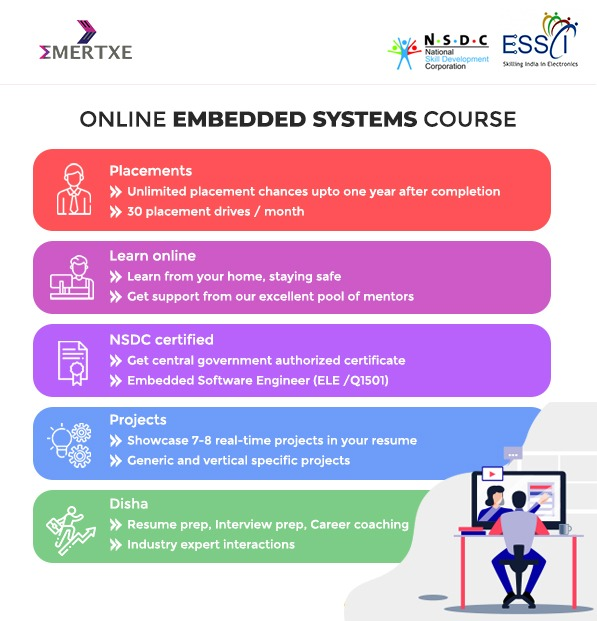 Online embedded systems course