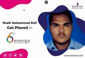 Emertxe Review by Shaik Mohammad Rafi