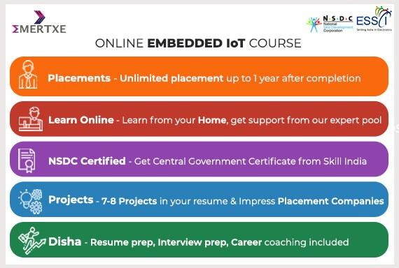 Online Embedded IoT Course - Emertxe